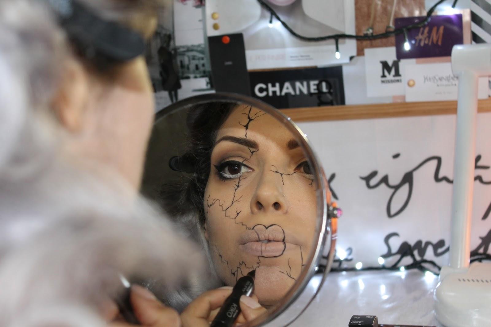 halloween make up tutorial 2