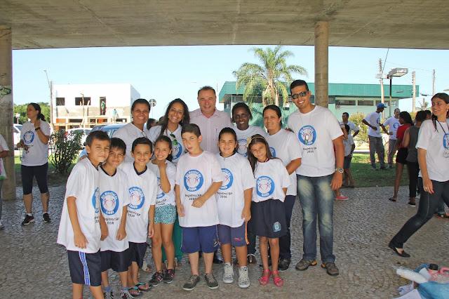 Mais de 500 pessoas participam das comemorações ao Dia Mundial da Saúde em Registro-SP