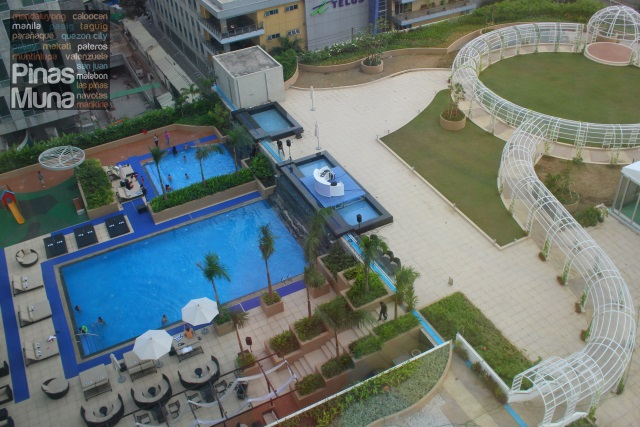 Novotel Manila Araneta Center outdoor pool