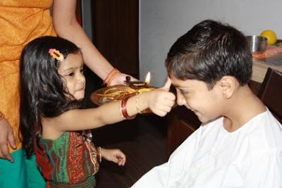 Happy Rakhi Brother and Sister celebrations images