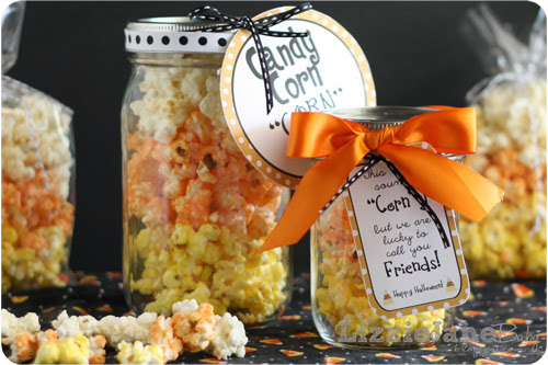 Candy Corn Popcorn - Featured