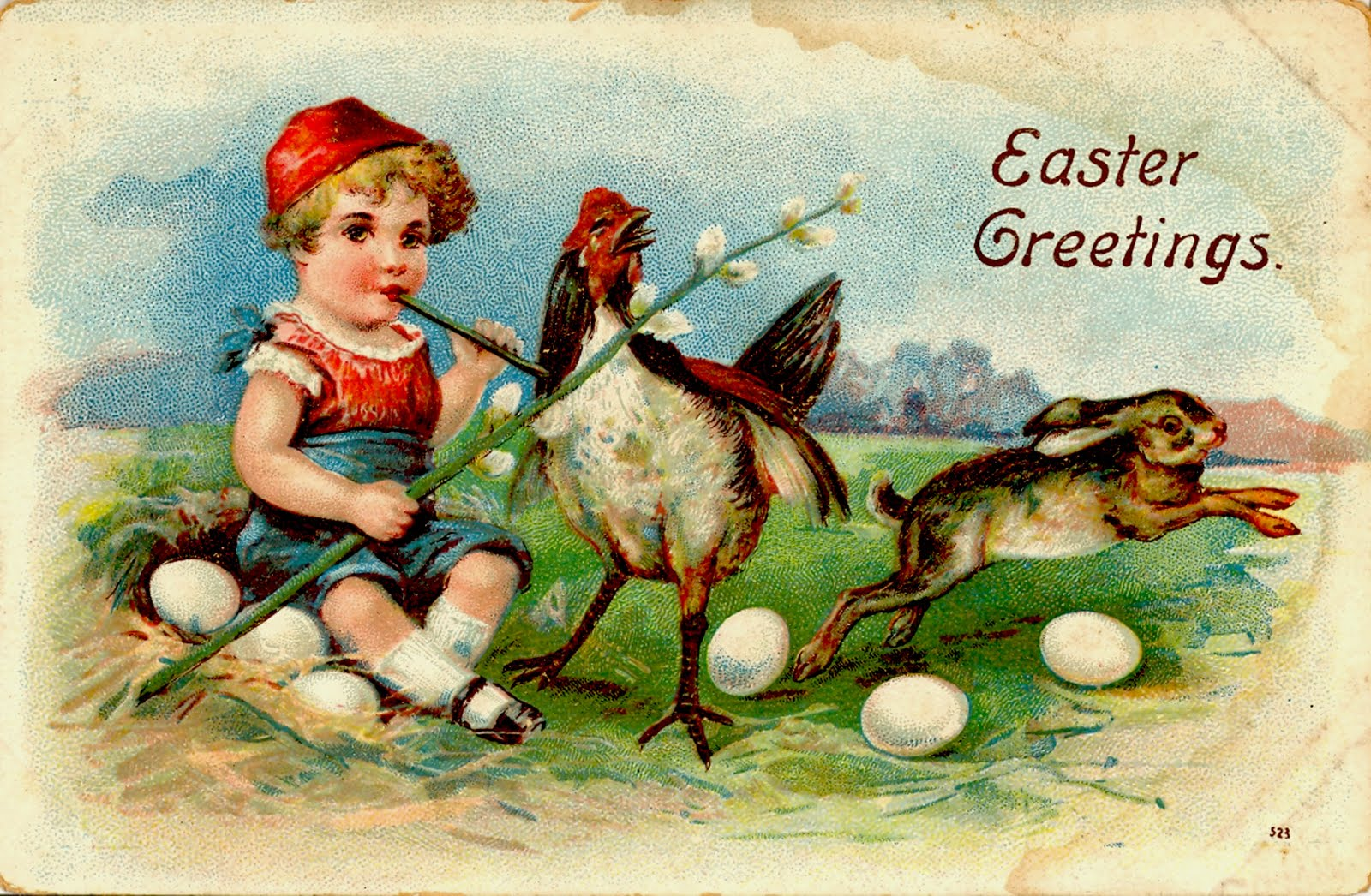 Darkness Visible: Freaky Easter Cards: Bizarro Victorian Holiday ...