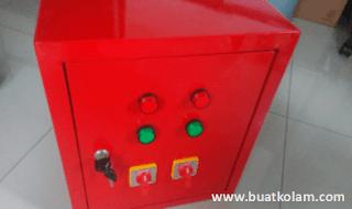 Box panel lampu kolam renang