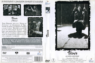 Vivir (Ikiru) (1952) - Carátula