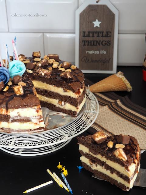 tort z lodami