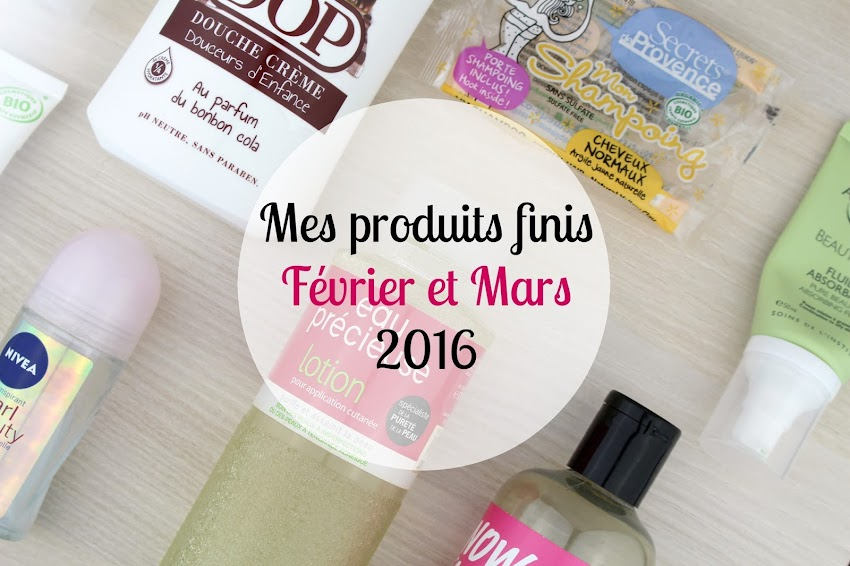 Produits finis DOP Britanie Lush Nivea Secrets de Provence Laboratoire Ariland Eau Précieuse Institut Arnaud et L'Action