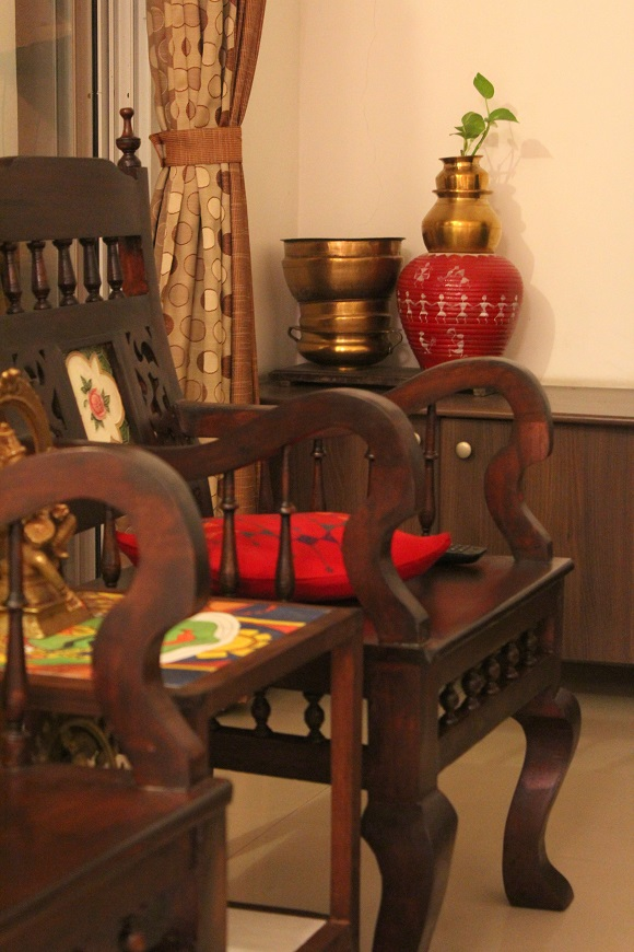 living room makeover a kerala style interior in the making indian woodworking diy arts. Black Bedroom Furniture Sets. Home Design Ideas