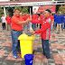 Tim Merah Putih Lapas Kelas IIA Karawang Bersihkan Masjid