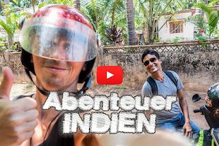 WELTREISE Reisen durch Goa Indien, Arkadijs Weltreise.tv