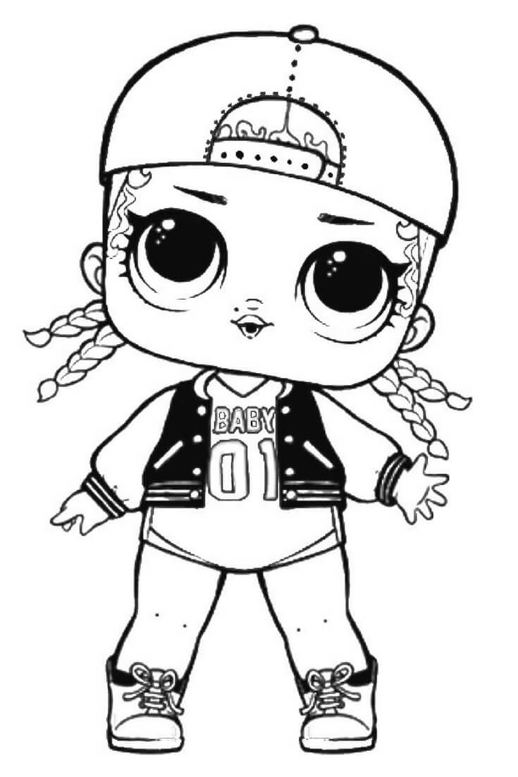 Snow Bunny Lol Coloring Pages Coloringpages2019