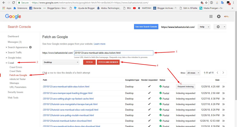 Cara Daftarkan Url Artikel Yang Benar Di Webmaster