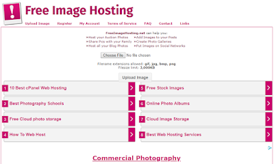 15 Best Free image hosting sites for storing high-quality images in 2019