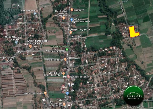 Tanah Luas di Selomartani Kalasan