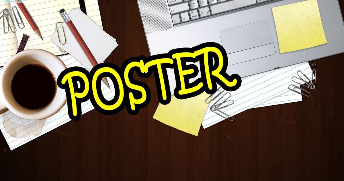 √Pengertian, Ciri, dan Jenis-Jenis Teks Poster Revisi ...