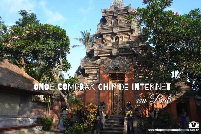 Chip de internet em Bali