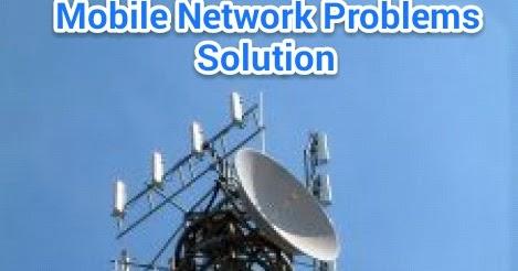 मोबाइल network problem solve करने के तरीके