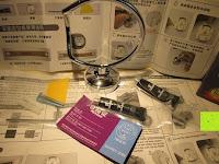 Anleitung: GHB Haartrocknerhalter mit importierten Kleber von Deutschland und hochwertigem Legierungsstahl