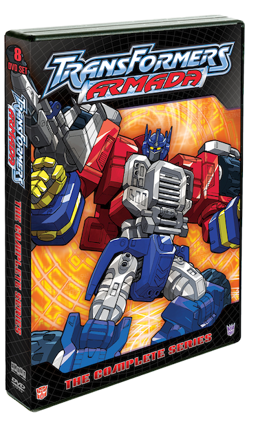 DVD Review - Transformers Armada: The Complete Series
