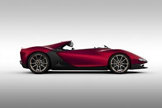 prototipo de Ferrari.