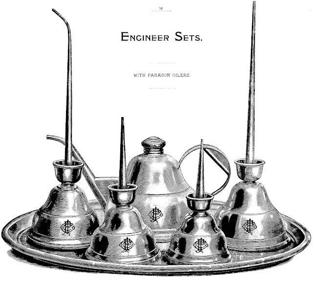 1892 engineer oilcans, illustration