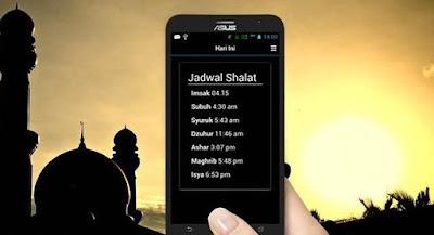 3 Aplikasi Jadwal Imsakiyah Android Puasa 2018