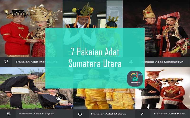 Inilah 7 Pakaian Adat Dari Provinsi Sumatera Utara