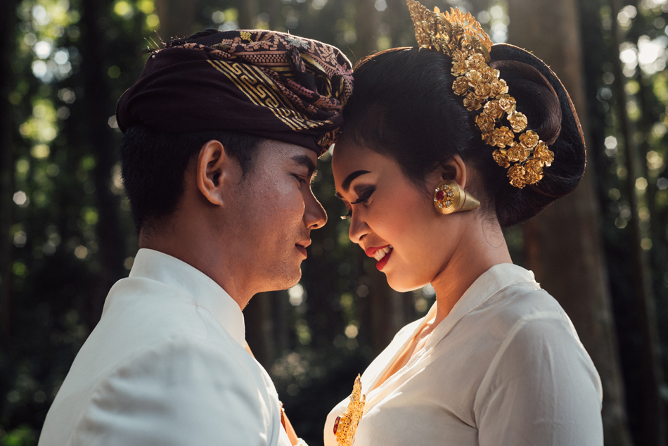 Bali Destination Documentary Wedding Photographer Intimate And