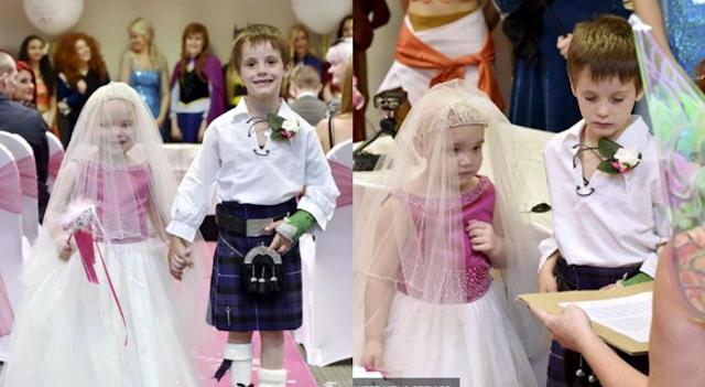Viral! Masih Kecil Udah Diizinkan Menikah, Jangan Berburuk Sangka Dulu, Ternyata Ada Kisah Sedih di Balik 'Pernikahan' 2 Bocah ini