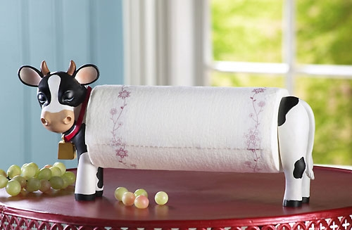 sofa table set cheap reclining sofas 15 cool cow inspired products and designs.