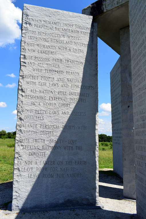 Georgia Guidestones | Photo: Travis S. Taylor