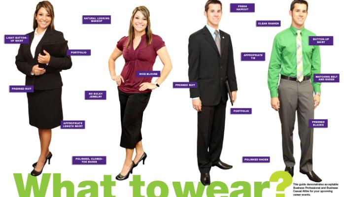 Towards A Blazing Future Dressing Sense For An Interview