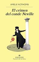 El crimen del conde Neville, Amélie Nothomb