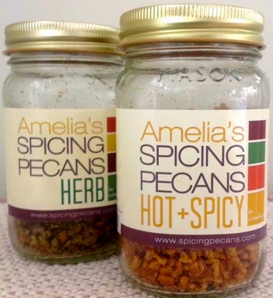 Amelia's Spicing Pecans, recipes