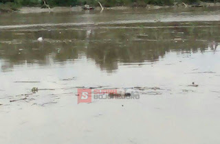 Warga Temukan Jenasah Berambut Panjang dan Telanjang Dada Di Sungai Begawan Solo