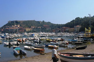 The Dutch Royal Family had a summer home in the harbour town of Porto Ercole
