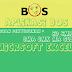 Aplikasi BOS SD|SMP|SMA|SMK|MA|SLB dengan Excel dilengkapi Cara Membuat Laporan LPJ
