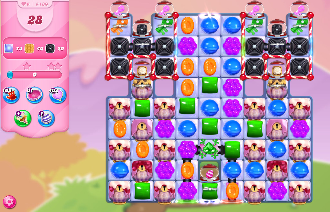 Candy Crush Saga level 5130