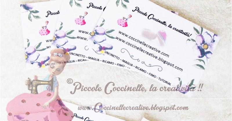 Connu Piccole coccinelle, la creatività !! : Bigliettini da visita di  VW37