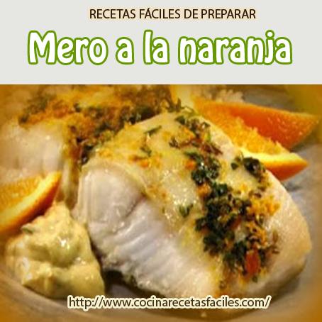 Mero A La Naranja Cocina Recetas Fáciles