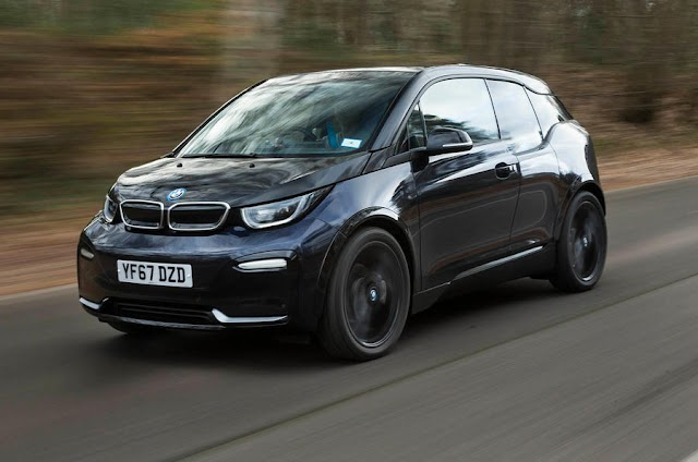 auto tech news BMW i3 is now an electric car