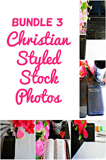 Bundle 3 Christian Styled Stock Photos