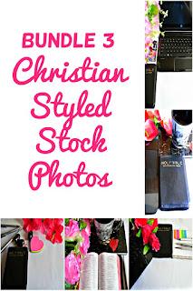 Bundle 3 Christian Styled Stock Photos