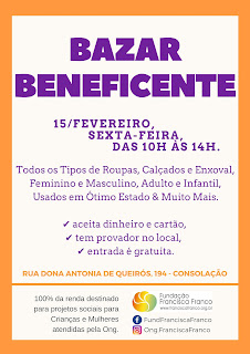 1 Bazar Beneficente 2019