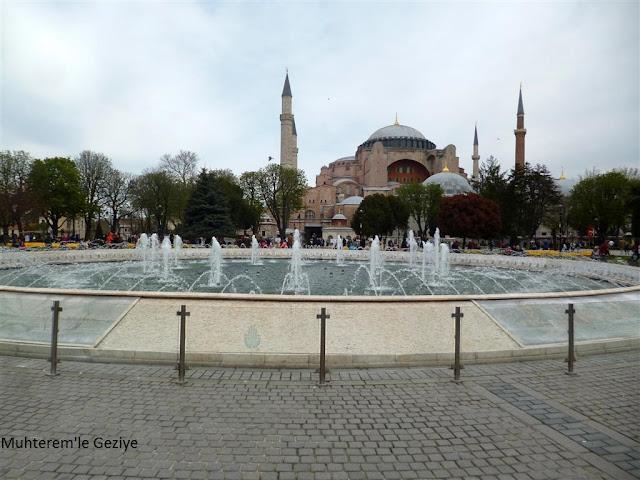 Sultanahmet'te ki havuz