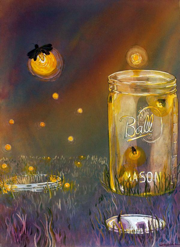 Starr Weems Art Blog Painting Memories Ball Kerr Atlas