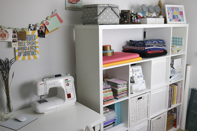 Sewing Space Tours... Hayley's Girly HQ!