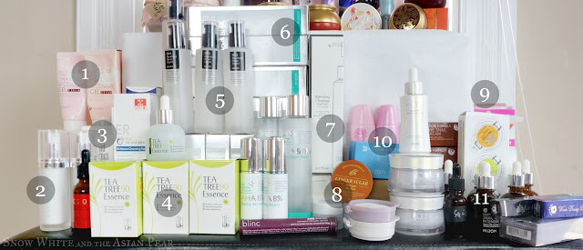 Middle tier of empties and repurchases