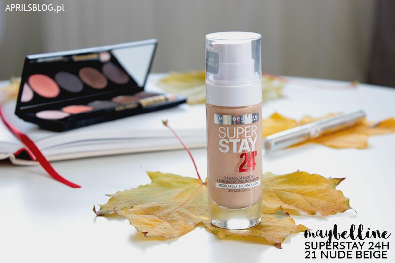 podkład maybelline superstay nude beige