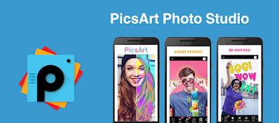 PicsArt Photo Studio  تطبيق محرر الصور الاحترافي – النسخة الكاملة