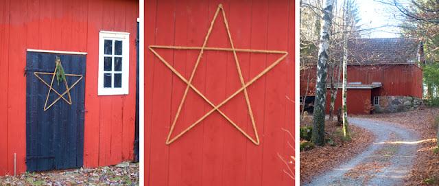 Hurlig  julepynt - stjerne af reb